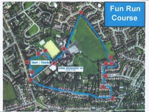Fun Run Course Map